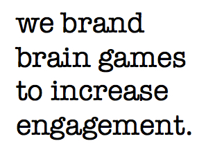 Branding Increases Engagement